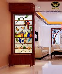 glass partition walls for home terrific wooden door with glass partition photos ideas house