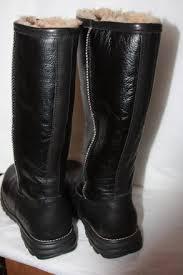 s ugg australia black boots ugg australia black s m boots booties size us 12