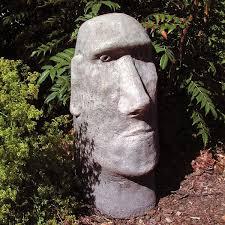 moai garden ornaments fasci garden