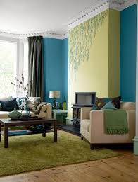 blue green living room brown blue and green living room ideas