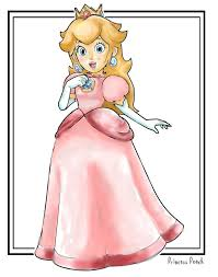 princess peach by applejackman on deviantart