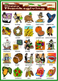 thanksgiving1 vocabulary