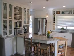 Menards Kitchen Cabinets Decorating Modern Kitchen Design With Quartz Countertop And