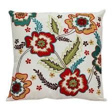 Cusion Cover Handmade Set Of 2 Applique U0027red Romance U0027 Cushion Covers India