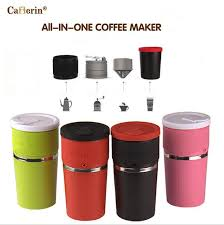 travel coffee maker images All in one portable coffee cup manual coffee maker drip coffee jpg