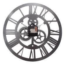 horloge murale engrenage yesurprise pendule murale acrylic silencieuse engrenage chiffre