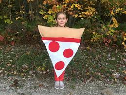 Pizza Halloween Costume Craft Create Cook Easy Sew Kids Pizza Costume Craft Create Cook