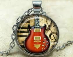 guitar necklace pendants images Guitar pendant etsy jpg