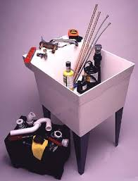how to install a laundry sink installing a basement laundry sink