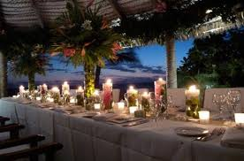Wedding Table Set Up Wedding Set Up Images Fiji Weddings Castaway Island Fiji