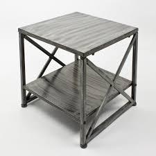 table bout de canapé table bout canape atelier 45x45x45 achat vente bout de