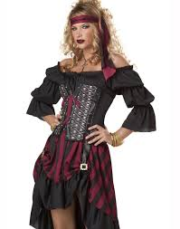 Pirate Makeup For Halloween Steam Punk Renaissance Pirate Wench Womens Halloween Corset