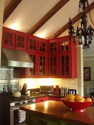 Red Kitchens With White Cabinets 58 Best Red Kitchens Images On Pinterest Red Kitchen Kitchen