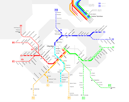 Montreal Subway Map by Great Canadian Transit Fantasies Thread Page 3 Skyscraperpage
