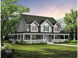 big farmhouse eplans farmhouse house plan big country 2407 square and 4