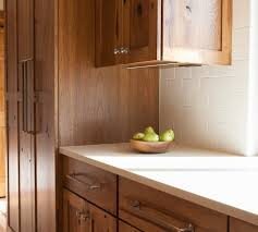 Rustic Hickory Kitchen Cabinets by Rustic Hickory Cabinets Kitchen Rustic With Paneled Appliances