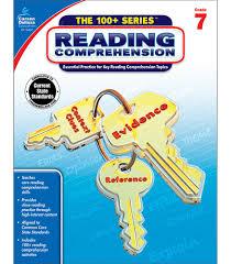 Reading Comprehension 7th Grade Worksheets Reading Comprehension Workbook Grade 7 Carson Dellosa Publishing