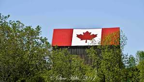 Giant Canadian Flag Seasons In The Valley Furry Gnome U0027s Adventures Happy Canada Day