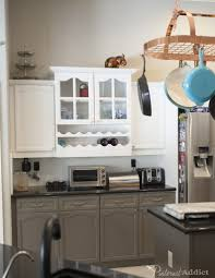 Painted Grey Kitchen Cabinets Kitchen Before And After Gray 2017 Including Sherwin Williams