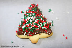 chocolate covered shortbread christmas cookies lessons from