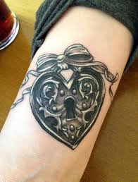 heart shaped locket tattoo pictures to pin on pinterest tattooskid