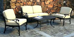 Iron Patio Table Set Metal Outdoor Table And Chairs Smc