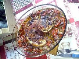 cuisiner rouelle de porc recette de rouelle de porc au chignons au four