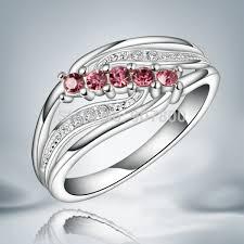 silver rings designs images Jr045 beautiful design austrian crystal silver ring classic jpg