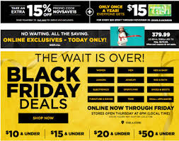are target black friday deals online rise and shine november 21 kohl u0027s black friday deals tons of