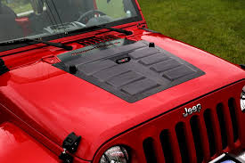 Rugged Ridge Grille Inserts Jeep Jk Free Shipping On Rugged Ridge 17759 10 Black Hood Vent Insert