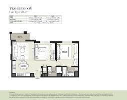 2 d as built floor plans hayat boulevard type 2d 2 2 bedroom dubai property developer
