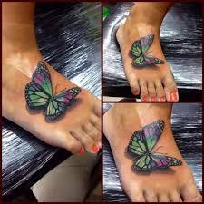 walk 3d butterfly tattooed tattoos
