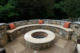 Outdoor Firepit Outdoor Fireplaces Md Pit Installation Montgomery County