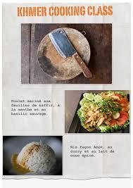stage de cuisine gastronomique nowmadnow cours de cuisine cambodgienne recettes khmères