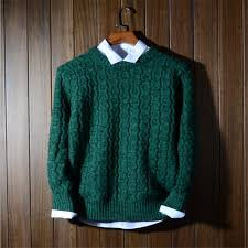 classic mens sweater winter warm s knitting sweaters japanese