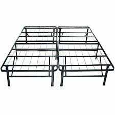 Metal Bed Frame No Boxspring Needed Bed Frames Iseries Vantage Plush King Frame No Box