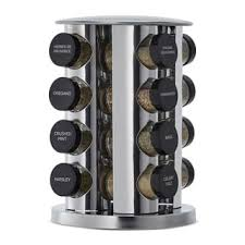 Revolving Spice Rack 20 Jars Kamenstein 20 Jar Revolving Spice Rack Free Shipping On Orders