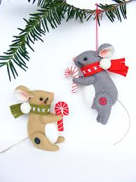 diy felt tree decorations by nuvolina handmade