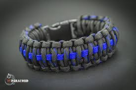 cobra bracelet images King cobra paracord survival bracelet police thin blue line jpg