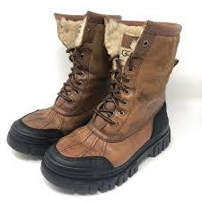 ugg shoes australia brown boots poshmark ugg shoes australia adirondack lined boots otter poshmark
