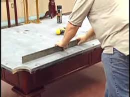 Custom Cloth Pool Table Cover How To Install A Pool Table Slate Installation Home Billiards