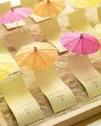 Beach Wedding Invitation Cards Escort Card Ideas For A Beach Wedding Martha Stewart Weddings