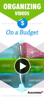 alejandra tv how to get organized on a budget videos organizing budgeting