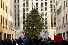photos of the rockefeller center christmas tree through the years