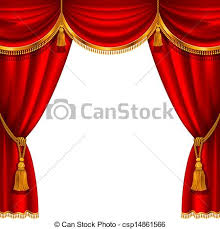 Stage With Curtains Curtains Vector Clipart Eps Images 28 600 Curtains Clip Art