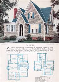 1920s modern english style house plan the dean 1928 home