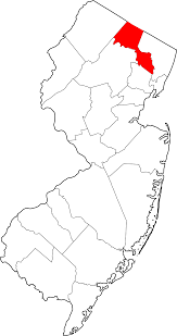 9 Digit Zip Code Map by National Register Of Historic Places Listings In Passaic County