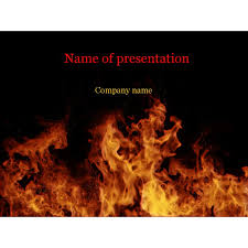fire powerpoint template church powerpoint template tongues of