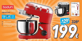 krefel promotion bodum de cuisine 11381 bistro bodum