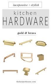 Kitchen Cabinet Hardware Knobs Best 25 Brass Cabinet Hardware Ideas On Pinterest Gold Kitchen